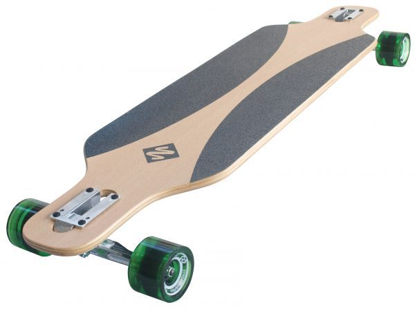 "Longboard Freeride 39"" - Carve Green"
