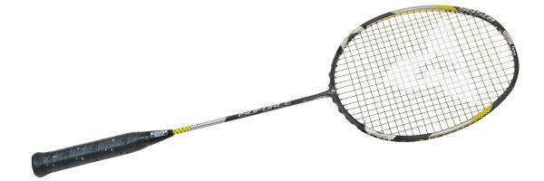 Badminton-Schläger ISOFORCE 9051.8 C4J, black-silver