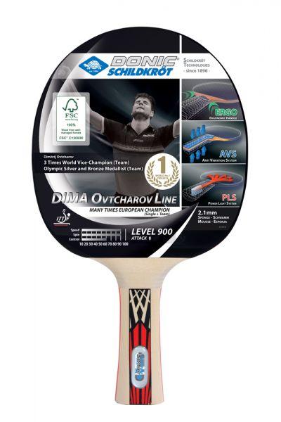 Donic-Schildkröt Tischtennisschläger Ovtcharov 900 FSC