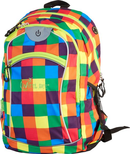 LED-Backpack Night Vision - Orange / Blue / Green
