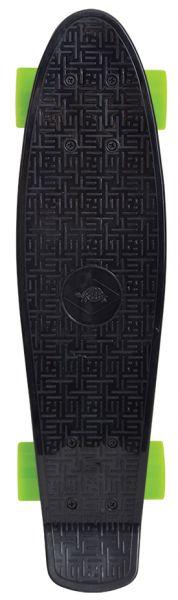 Retro Skateboard 22´´, Design: Native Black