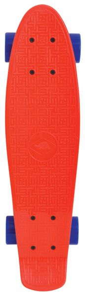 Retro Skateboard 22´´, Design: Native Red