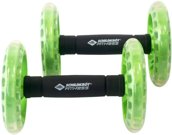 Schilkröt Fitness Dual-Core-Wheels - doppelt kugelgelagert