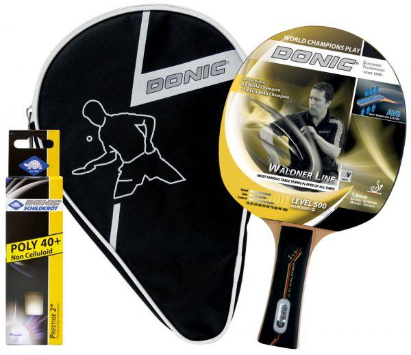 Tischtennis-Geschenkset Waldner 500