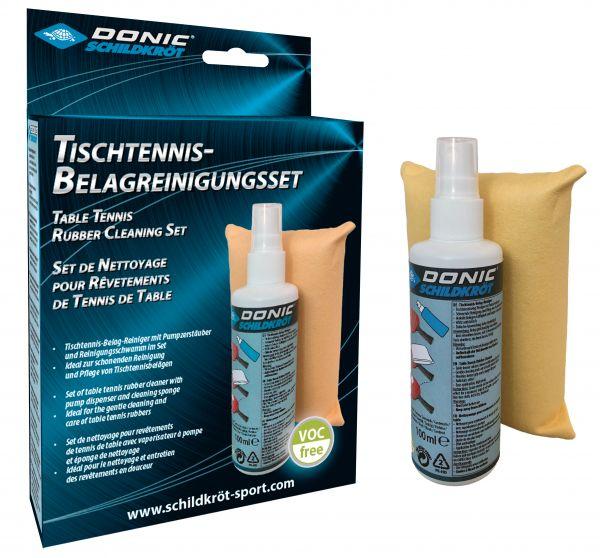Donic-Schildkröt Tischtennis-Belag-Reinigungsset
