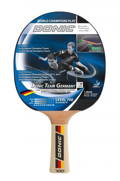 Donic-Schildkröt Tischtennisschläger Team Germany 700