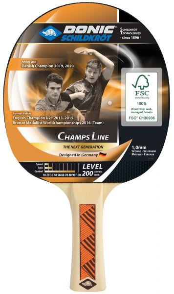 Tischtennisschläger Champs Line 200