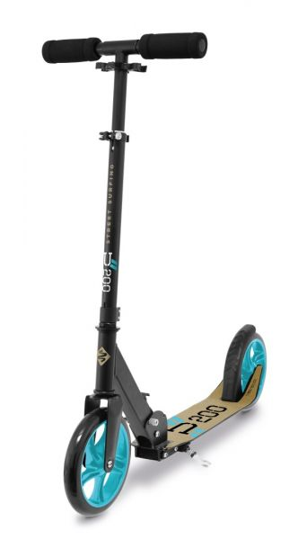 "Street Surfing ""URBAN-200"" Scooter, black-beige-blue"