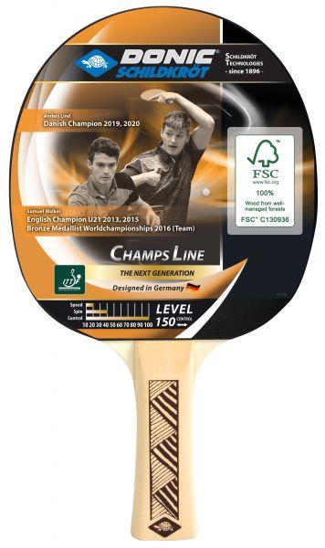 Tischtennisschläger Champs Line 150