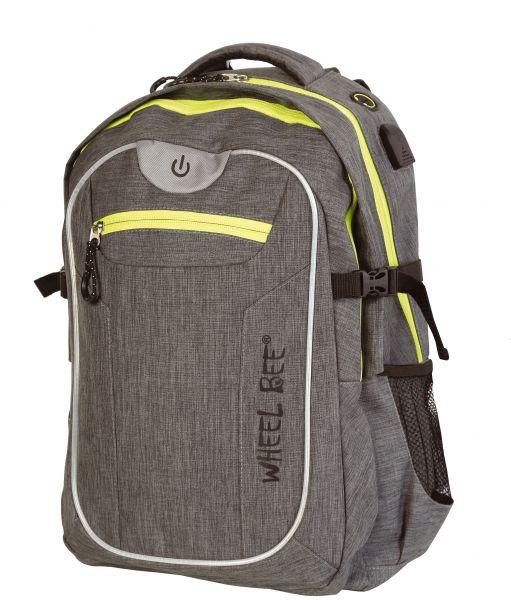 LED-Backpack Revolution, Design: Grey