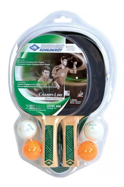 Donic-Schildkröt Tischtennis-Cover-Set Champs Line 400