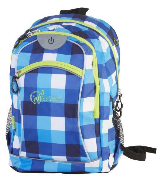 Wheel-Bee® LED-Backpack Night Vision - Orange / Blue / Green