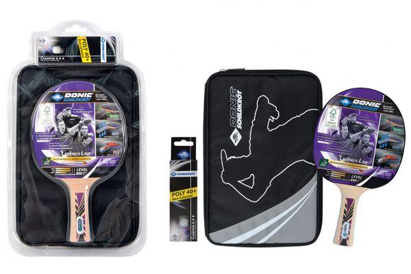 Tischtennis-Premium-Geschenkset Legends 800 FSC