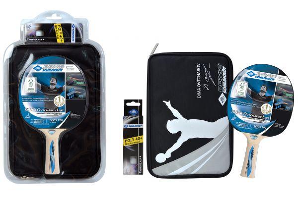 Donic-Schildkröt Tischtennis-Premium-Geschenkset Ovtcharov 700 FSC