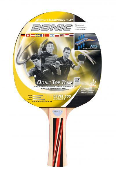 Donic-Schildkröt Tischtennisschläger Top Team 500