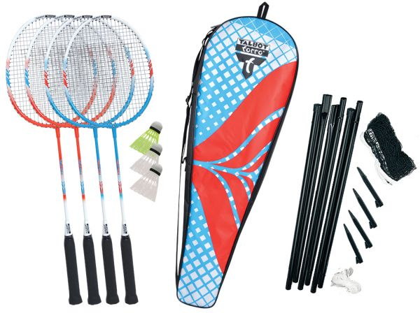 Talbot Torro Premium Badminton-Set 4-Fighter