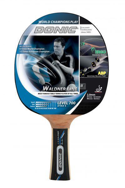 Donic-Schildkröt Tischtennisschläger Waldner 700 mit ABP-Griff