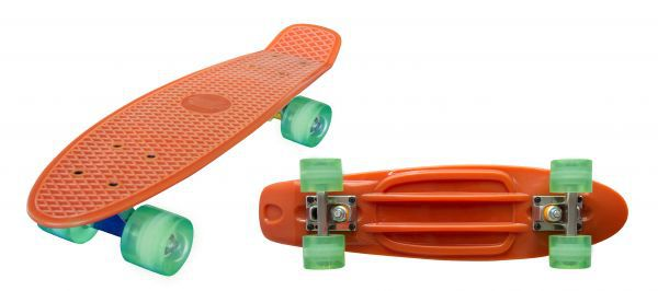 "Streetsurfing® Beach Board 22"" - Glow in the dark Orange"