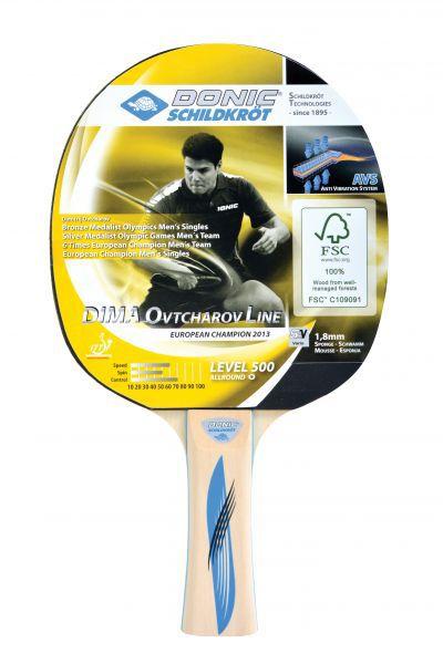 Donic-Schildkröt Tischtennisschläger Ovtcharov 500 FSC