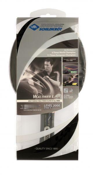 Donic-Schildkröt Tischtennisschläger Waldner 3000 Carbon mit ABP-Griff