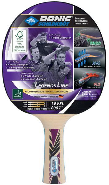 Donic-Schildkröt Tischtennisschläger Legends 800 FSC