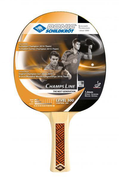 Donic-Schildkröt Tischtennisschläger Champs Line 300